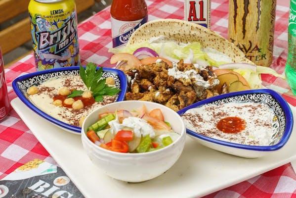 Chicken Shawarma Platter