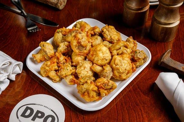 Batter-Fried Mushrooms
