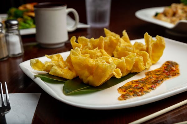 8. (8 pc.) Fried Cheese Wonton