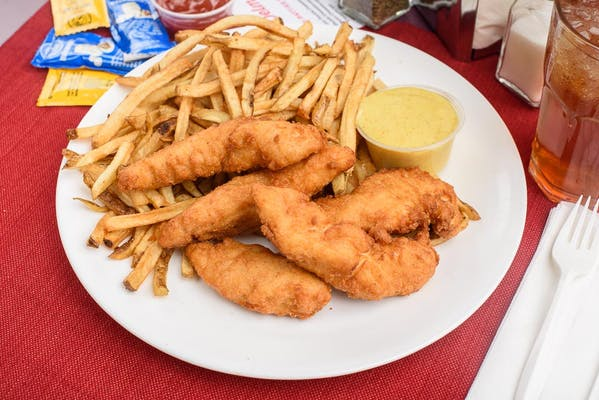 Beer-Battered Chicken Tenders