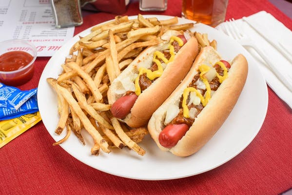 (2) Hot Dogs