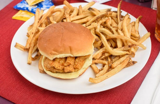 Fried Chicken Fillet Sandwich