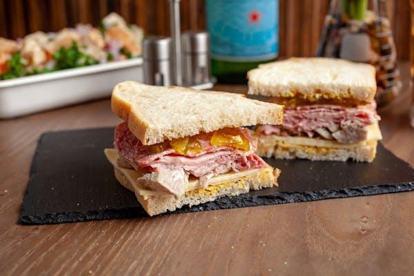 Rustic Cuban Sandwich
