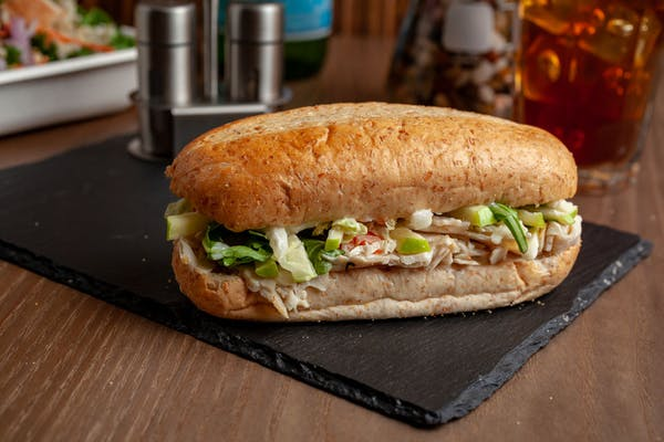 Honey-Roasted Turkey & Apple Sandwich