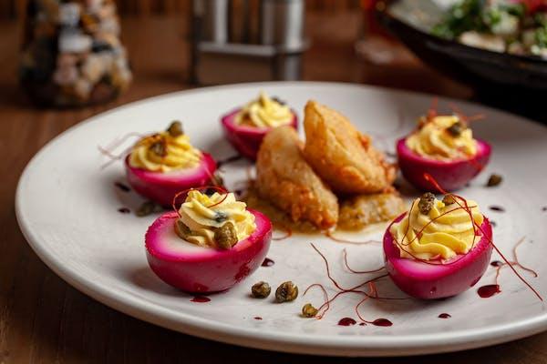 B-Deviled Eggs