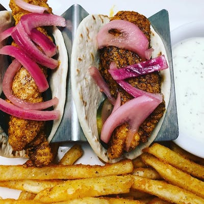 Nashville Hot Chicken Tacos