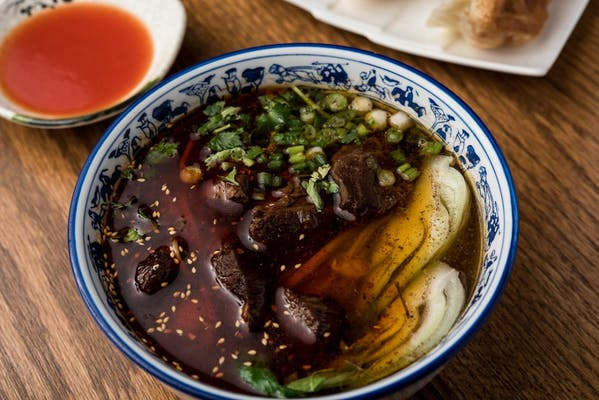 Lanzhou Stewed Beef Noodle