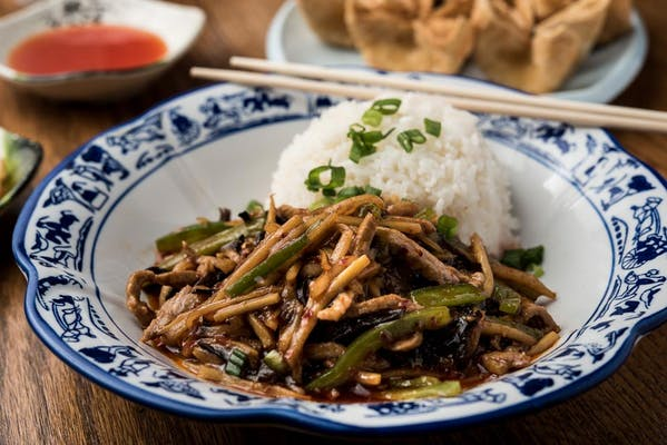 Shredded Pork with Garlic Sauce