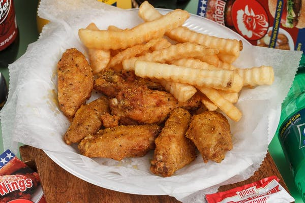 3. (6 pc.) Wings