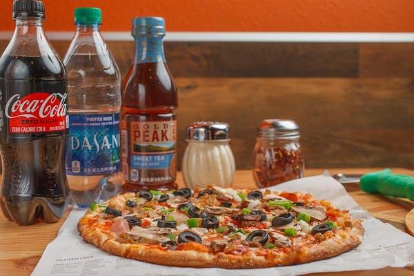 Create Your Own Pizza Coca-Cola Combo