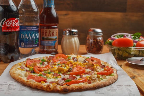 Create Your Own Pizza & Side Salad Coca-Cola Combo