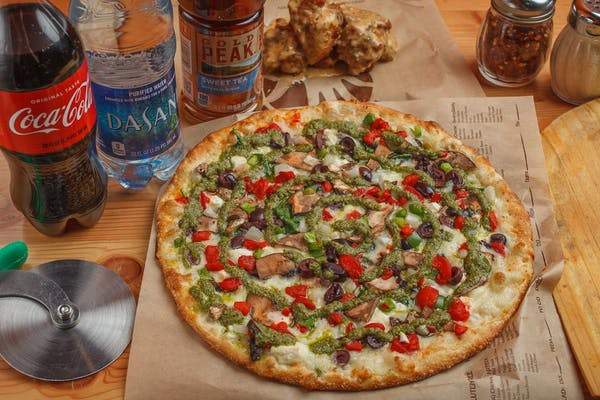 Create Your Own Pizza & Wing Coca-Cola Combo
