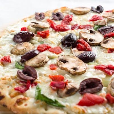 Mediterranean Veggie Pizza