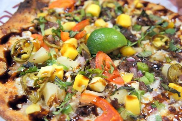 Caribbean Mango Steak