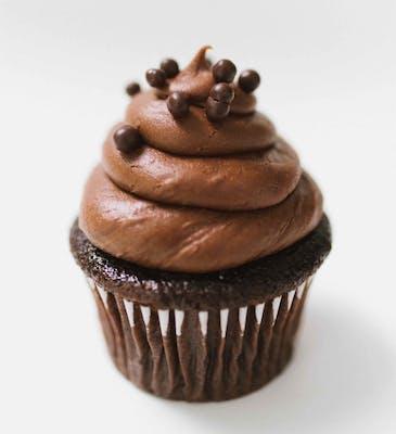 Blackout Mini Cupcakes - Dozen
