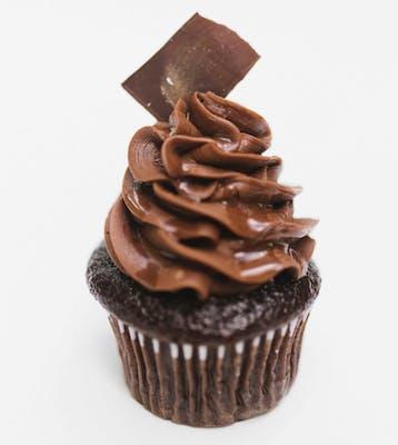 Chocolate Kiss Mini Cupcakes - Dozen