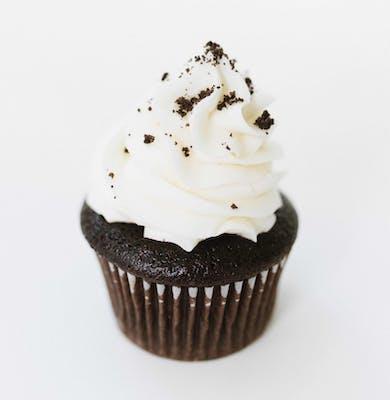 Chocolate Loves Vanilla Mini Cupcakes - Dozen