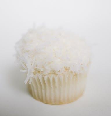 Coconut Mini Cupcakes - Dozen