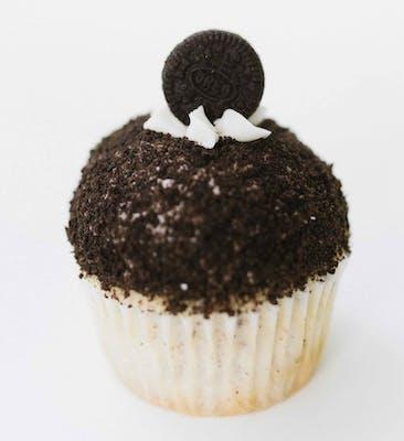 Cookie Crunch Mini Cupcakes - Dozen