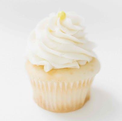 Luscious Lemon Mini Cupcakes - Dozen