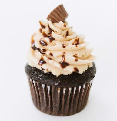 Peanut Butter Cup Mini Cupcakes - Dozen