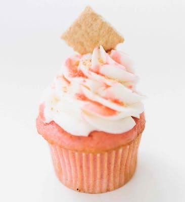 Strawberry Cheesecake Mini Cupcakes - Dozen