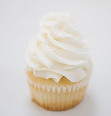 Very Vanilla Mini Cupcakes - Dozen