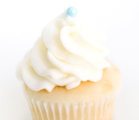 Wedding Cake Mini Cupcakes - Dozen