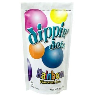 Rainbow Dippin' Dots (Dairy-Free)