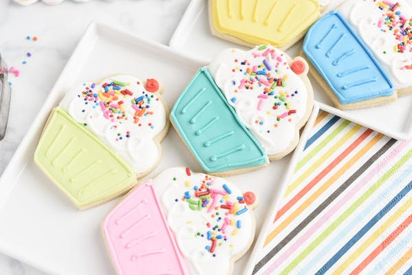 Single Decorated Sugar Cookie