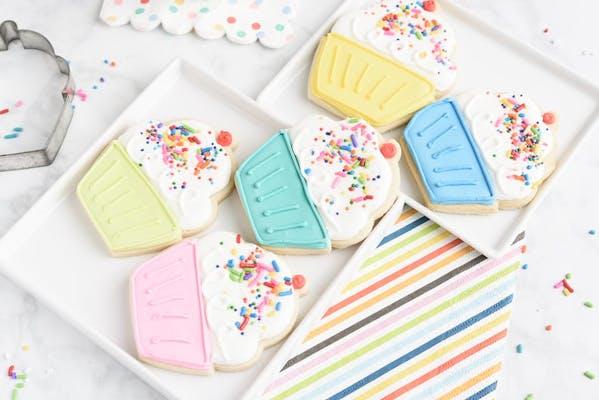 (4) Decorated Sugar Cookies