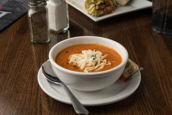 Tomato Basil Gouda Soup