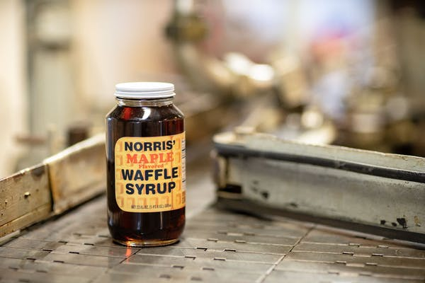 Norris' Maple Flavored Waffle Syrup