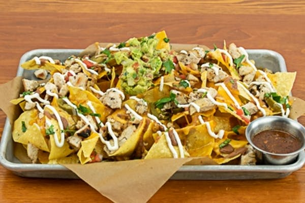 Double Stacked Nachos