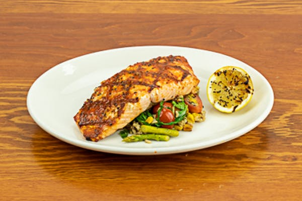 Chargrilled Salmon