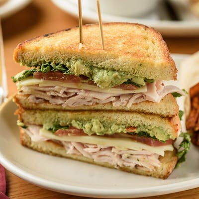 Turkey Avocado Smash Sandwich