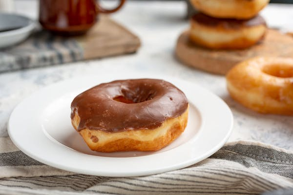 Chocolate-Topped Donuts
