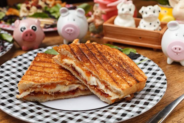 #1 Plaid Pig Grilled Cheese
