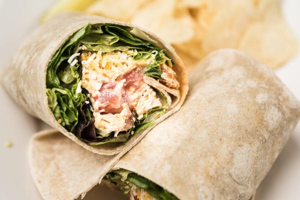 Spicy Buffalo Chicken Wrap