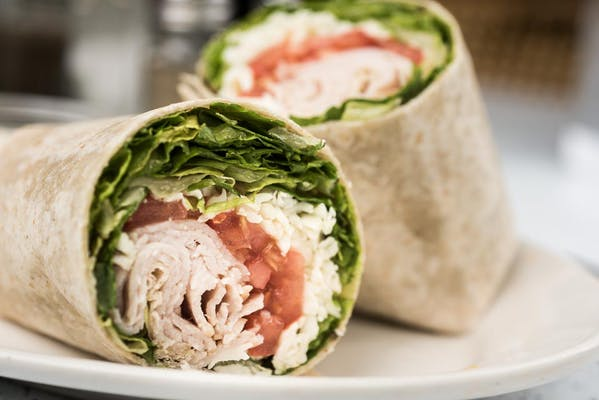 Smoked Turkey Wrap
