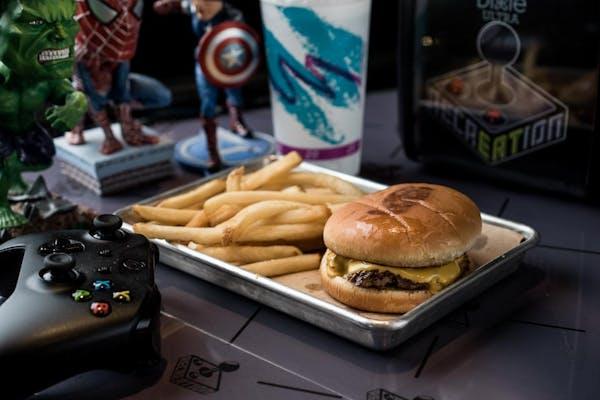 Rugrat's Cheeseburger