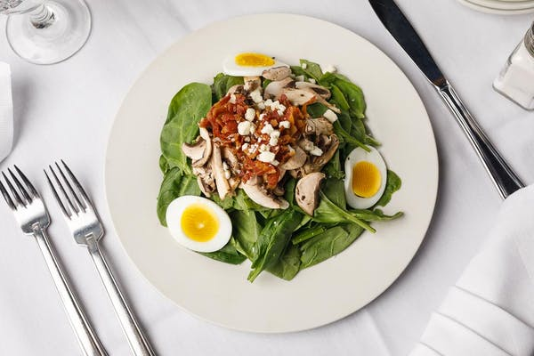 Spinach & Mushroom Salad