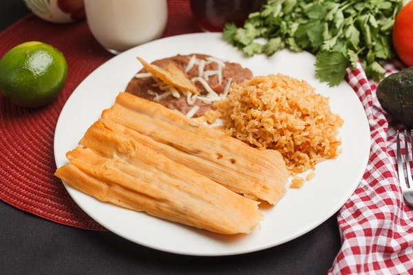 Two Tamales Plate