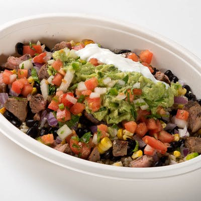 Seasoned Chicken Burrito Bowl