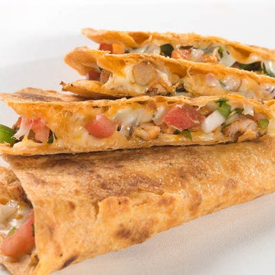 Seasoned Chicken Quesadilla