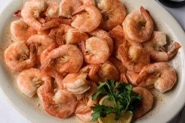 Boiled Medium Shrimp Appetizer