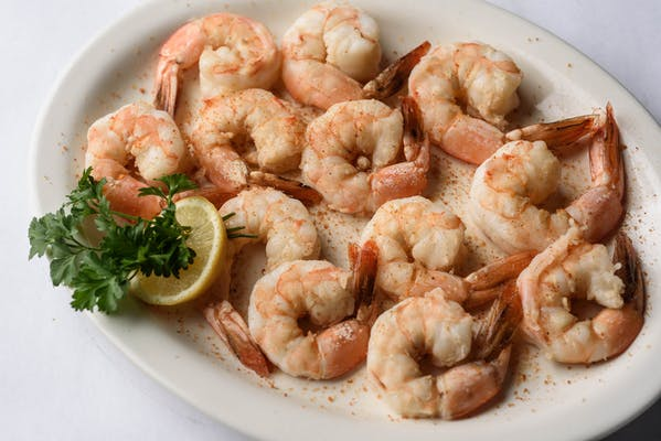 Boiled Large Shrimp Appetizer
