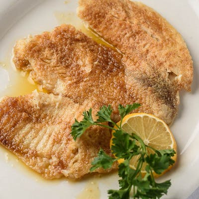 Steamed Garlic Flounder Fillet