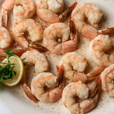 Boiled Jumbo Shrimp Entrée
