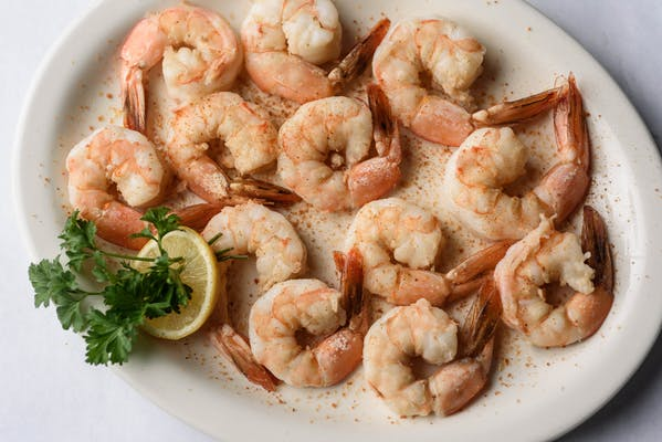 Boiled Large Shrimp Entrée